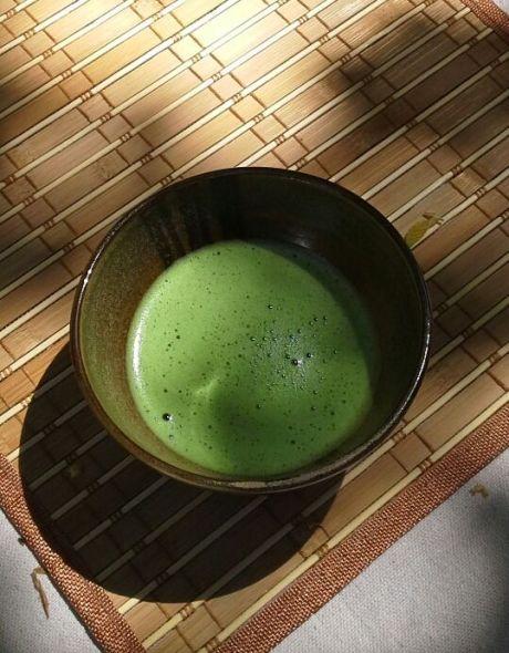 Japanese tea ceremony, matcha